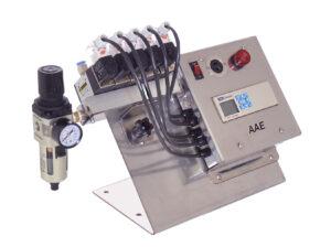 Compressed air venturi loader for plastics advanced control