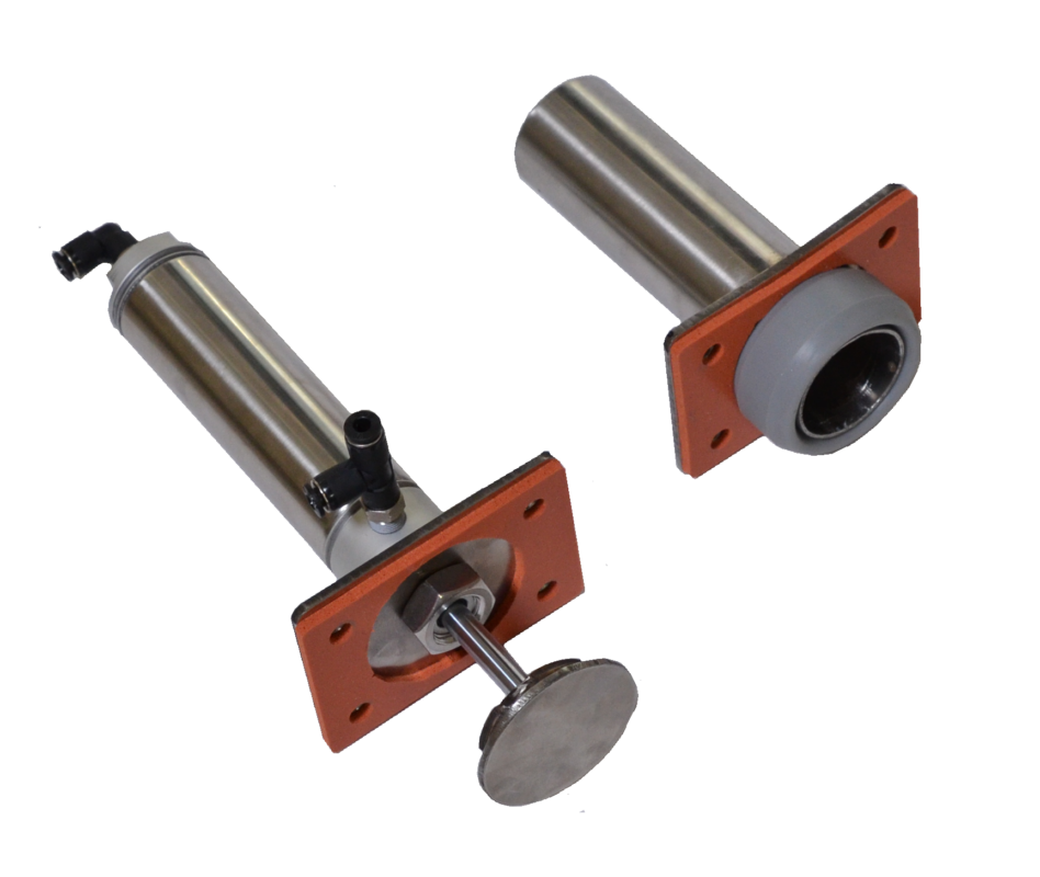 vacuum loader for plastics 2 material valve flanged