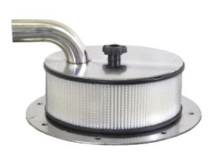 Granulator unloaders, Large filter