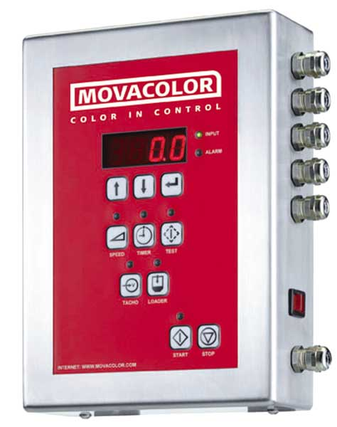 Movacolor color feeder mc12 control