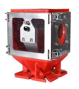 Movacolor color feeder quick clean with a sample port
