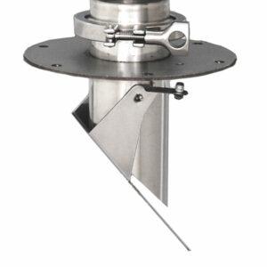 RemoteVac vacuum chamber material valve